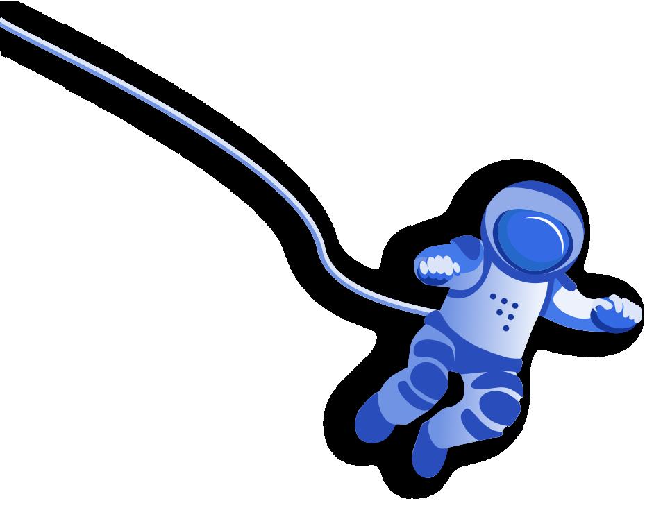 Плавающий космонавт